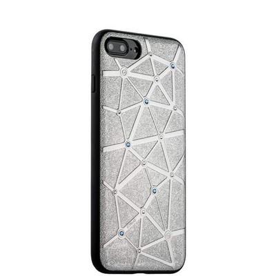 Чехол-накладка силиконовый COTEetCI Star Diamond Case для iPhone 8 Plus/ 7 Plus (5.5) CS7033-TS Серебристый - фото 30032