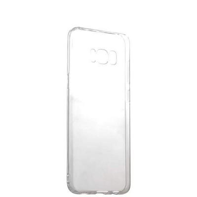 Чехол силиконовый для Samsung GALAXY S8+ SM-G955F уплотненный в техпаке (прозрачный) - фото 30041