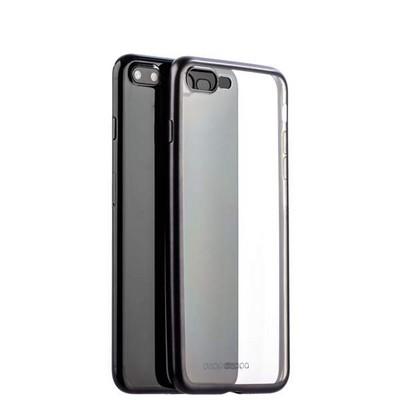 Чехол-накладка силикон Deppa Gel Plus Case D-85286 для iPhone 8 Plus/ 7 Plus (5.5) 0.9мм Черный матовый борт - фото 30048