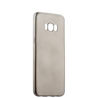 Чехол-накладка силиконовый J-case Delicate Series Matt 0.5mm для Samsung Galaxy S8 Plus Графитовый - фото 30105