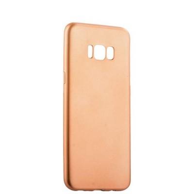 Чехол-накладка силиконовый J-case Delicate Series Matt 0.5mm для Samsung Galaxy S8 Plus Розовое золото - фото 30106