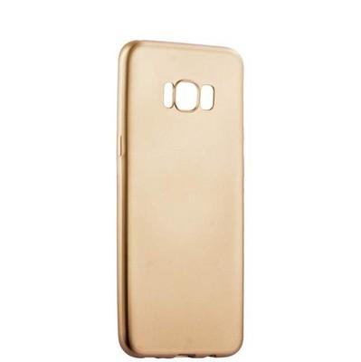 Чехол-накладка силиконовый J-case Delicate Series Matt 0.5mm для Samsung Galaxy S8 Plus Золотистый - фото 30107