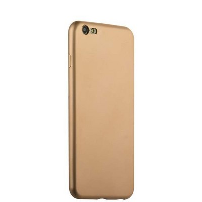 Чехол-накладка силиконовый J-case Delicate Series Matt 0.5mm для iPhone 6s Plus/ 6 Plus (5.5) Золотистый - фото 30121