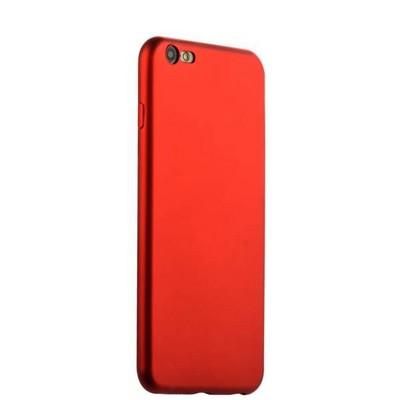 Чехол-накладка силиконовый J-case Delicate Series Matt 0.5mm для iPhone 6s Plus/ 6 Plus (5.5) Красный - фото 30122