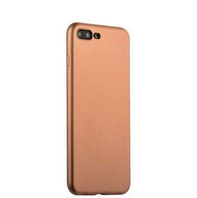 Чехол-накладка силиконовый J-case Delicate Series Matt 0.5mm для iPhone 8 Plus/ 7 Plus (5.5) Розовое золото - фото 30126
