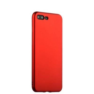 Чехол-накладка силиконовый J-case Delicate Series Matt 0.5mm для iPhone 8 Plus/ 7 Plus (5.5) Красный - фото 30127