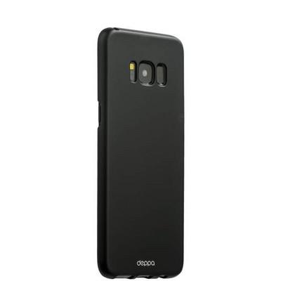 Чехол-накладка пластик Soft touch Deppa Air Case D-83306 для Samsung GALAXY S8+ SM-G955F 1мм Черный - фото 32269