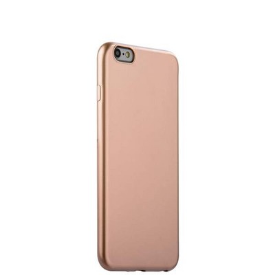 "Чехол-накладка силиконовый J-case Shiny Glazed Series 0.5mm для iPhone 6S Plus/ 6 Plus (5.5"") Jet Gold Золотистый - фото 30168"