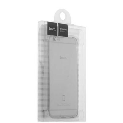 """Чехол силиконовый Hoco Light Series для iPhone 6S Plus/ 6 Plus (5.5"""") Дымчатый - фото 30184"""