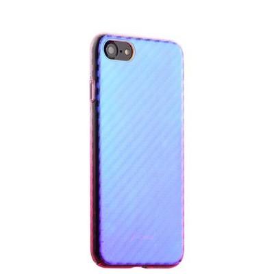 "Чехол-накладка пластиковый J-case Colorful Fashion Series 0.5mm для iPhone SE (2020г.)/ 8/ 7 (4.7"") Розовый оттенок - фото 30223"