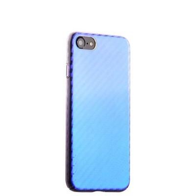 """Чехол-накладка пластиковый J-case Colorful Fashion Series 0.5mm для iPhone SE (2020г.)/ 8/ 7 (4.7"""") Фиолетовый оттенок - фото 30224"""