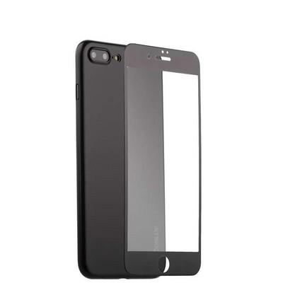 """Чехол-накладка супертонкая Coblue Slim Series PP Case & Glass (2в1) для iPhone 8 Plus/ 7 Plus (5.5"""") Черный - фото 30248"""