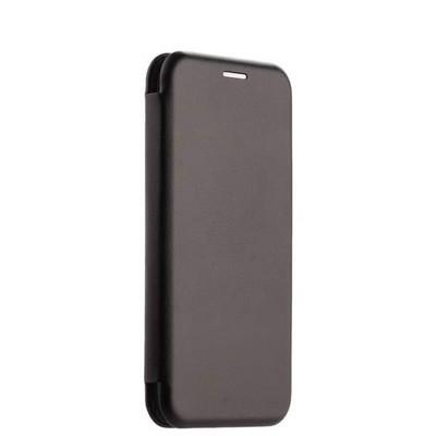 Чехол-книжка кожаный Fashion Case Slim-Fit для Samsung A8 Plus (2018) Black Черный - фото 32384