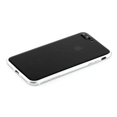 """Бампер поликарбонат с силиконом Totu Evoque Series для Apple iPhone 8 Plus/ 7 Plus (5.5"""") Серебристый - фото 30391"""