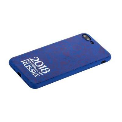 """Чехол-накладка TPU Deppa D-103927 ЧМ по футболу FIFA™ Official Logotype для iPhone 8 Plus/ 7 Plus (5.5"""") Синий - фото 30519"""
