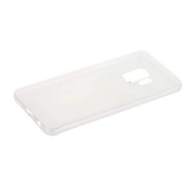 Чехол силиконовый для Samsung GALAXY S9 супертонкий в техпаке (прозрачный) - фото 30548