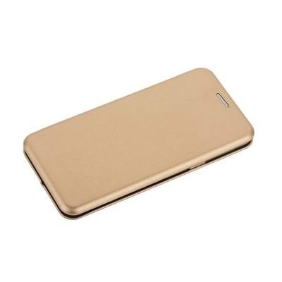 Чехол-книжка кожаный Fashion Case Slim-Fit для Samsung Galaxy S9 Gold Золотой - фото 30570