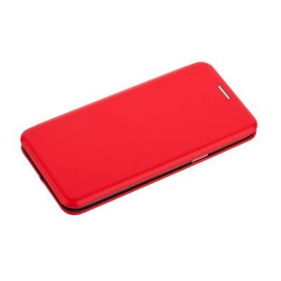Чехол-книжка кожаный Fashion Case Slim-Fit для Samsung Galaxy S9 Red Красный - фото 30571