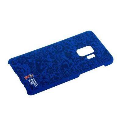 Чехол-накладка PC Deppa D-104725 ЧМ по футболу FIFA™ Official Pattern для Samsung GALAXY S9 SM-G960F Синий - фото 30592