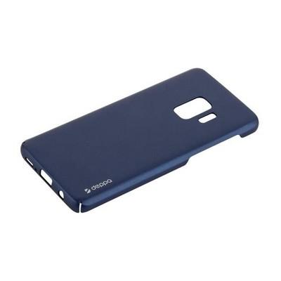 Чехол-накладка пластик Soft touch Deppa Air Case D-83339 для Samsung GALAXY S9 SM-G960F 1мм Синий - фото 30627