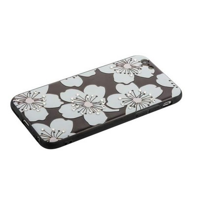 "Накладка PC+TPU BLING BALLY Luxury Diamond Case для iPhone 6s/ 6 (4.7"") Цветы - фото 30642"