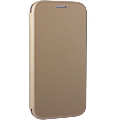 Чехол-книжка кожаный Fashion Case Slim-Fit для Samsung A8 (2018) Gold Золотистый - фото 32381
