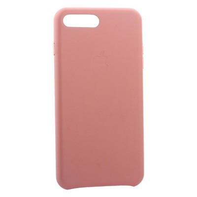 """Чехол-накладка кожаная Leather Case для iPhone 8 Plus/ 7 Plus (5.5"""") Pink - Розовый - фото 30873"""
