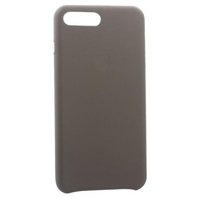 """Чехол-накладка кожаная Leather Case для iPhone 8 Plus/ 7 Plus (5.5"""") Taupe - Бежевый - фото 30875"""