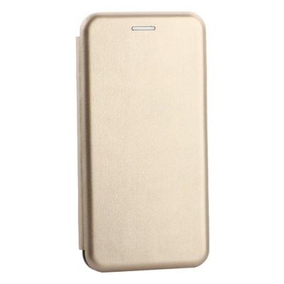 Чехол-книжка кожаный Innovation Case для Samsung Galaxy S10 Plus Золотой - фото 30887