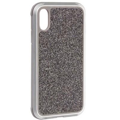 "Чехол-накладка противоударный X-DORIA Defense Lux Glitter (3X3CO5C8B) для Iphone XR (6.1"")Серебристый - фото 31047"