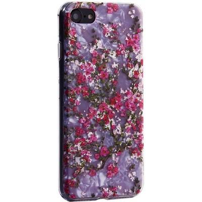 """Чехол-накладка пластиковый MItrifON для iPhone SE (2020г.)/ 8/ 7 (4.7"""") с силиконовыми бортами Розовый вид №2 - фото 31172"""