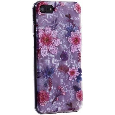 """Чехол-накладка пластиковый Fashion Case для iPhone SE (2020г.)/ 8/ 7 (4.7"""") с силиконовыми бортами Розовый вид №4 - фото 31174"""