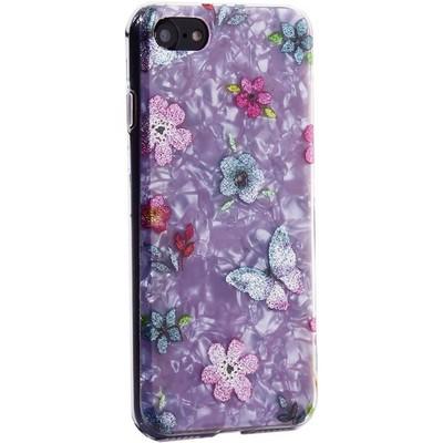 """Чехол-накладка пластиковый Fashion Case для iPhone SE (2020г.)/ 8/ 7 (4.7"""") с силиконовыми бортами Розовый вид №5 - фото 31175"""