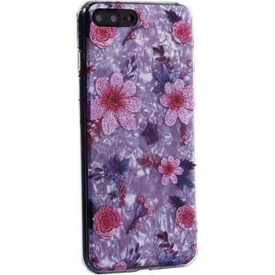 """Чехол-накладка пластиковый MItrifON для iPhone 8 Plus/ 7 Plus (5.5"""") с силиконовыми бортами Розовый вид №4 - фото 31180"""