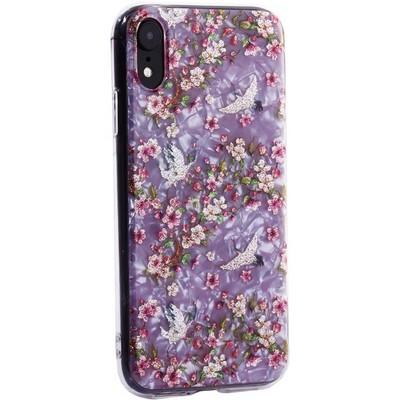 """Чехол-накладка пластиковый MItrifON для iPhone XR (6.1"""") с силиконовыми бортами Розовый вид №1 - фото 31189"""