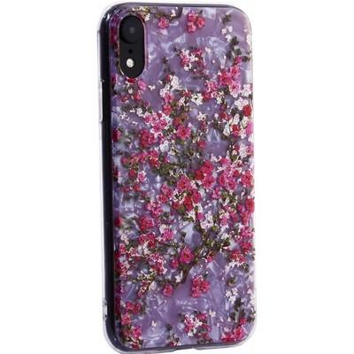 """Чехол-накладка пластиковый MItrifON для iPhone XR (6.1"""") с силиконовыми бортами Розовый вид №2 - фото 31190"""