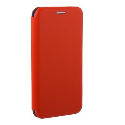 Чехол-книжка кожаный Fashion Case Slim-Fit для Samsung A8 (2018) Red Красный - фото 32383