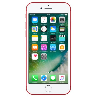 Apple iPhone 7 256Gb Red А1778 - фото 5470
