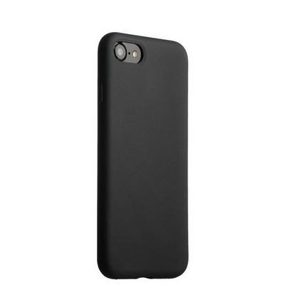 """Накладка силиконовая MItrifON для iPhone SE (2020г.)/8/ 7 (4.7"""") без логотипа Black Черный №18 - фото 32577"""