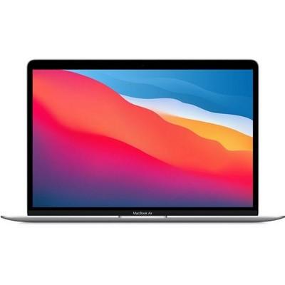 Apple MacBook Air 13 Late 2020 M1, 8Gb, 256Gb SSD Silver (серебристый) MGN93RU - фото 38947