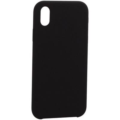 "Накладка силиконовая MItrifON для iPhone XR (6.1"") без логотипа Black Черный №18 - фото 39131"