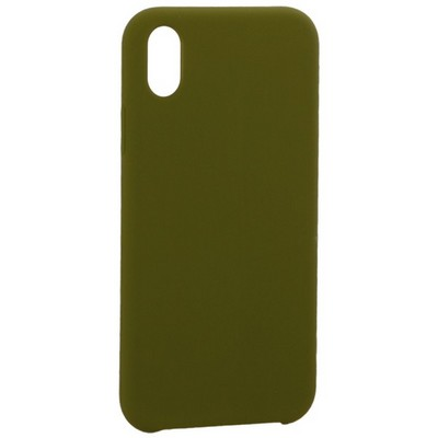 """Накладка силиконовая MItrifON для iPhone XR (6.1"""") без логотипа Marsh Болотный №48 - фото 39212"""