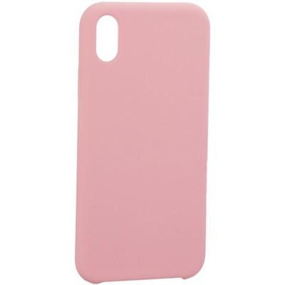 "Накладка силиконовая MItrifON для iPhone XR (6.1"") без логотипа Pink Розовый №6 - фото 39219"