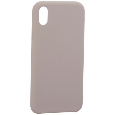 "Накладка силиконовая MItrifON для iPhone XR (6.1"") без логотипа Lavender Лавандовый №7 - фото 39220"
