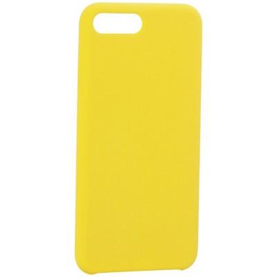 """Накладка силиконовая MItrifON для iPhone 8 Plus/ 7 Plus (5.5"""") без логотипа Yellow Желтый №55 - фото 39226"""