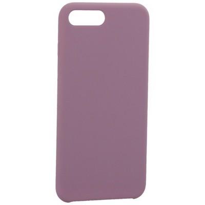 """Накладка силиконовая MItrifON для iPhone 8 Plus/ 7 Plus (5.5"""") без логотипа Dark Lilac Темно-сиреневый №61 - фото 39239"""
