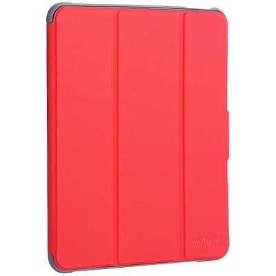 """Чехол-подставка Mutural Folio Case Elegant series для iPad Pro (11"""") 2020г. кожаный (MT-P-010504) Красный - фото 39940"""