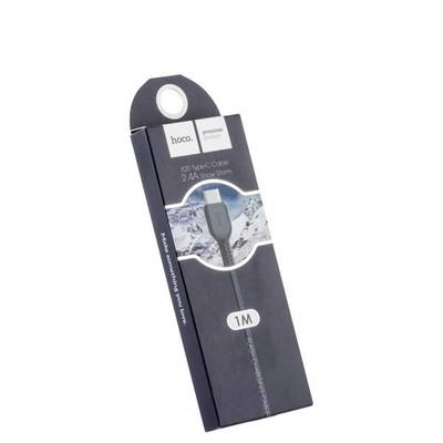 USB дата-кабель Hoco X20 Flash Type-C (1.0 м) Черный - фото 18683