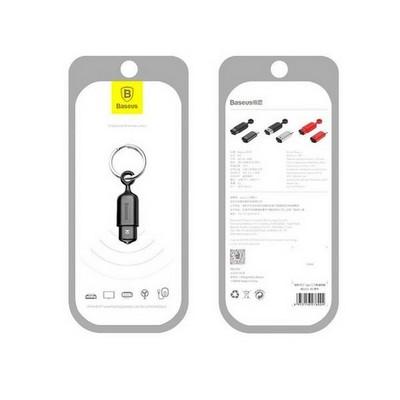 Пульт дистанционного управления Baseus Smartphone IR для iPhone (ACLR01-01) алюминий Черный - фото 40853
