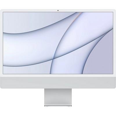 "Apple iMac 24"" Retina 4,5K 2021 MGPC3 (M1, 8C CPU, 8C GPU, 8Gb, 256Gb SSD, серебристый) - фото 41884"